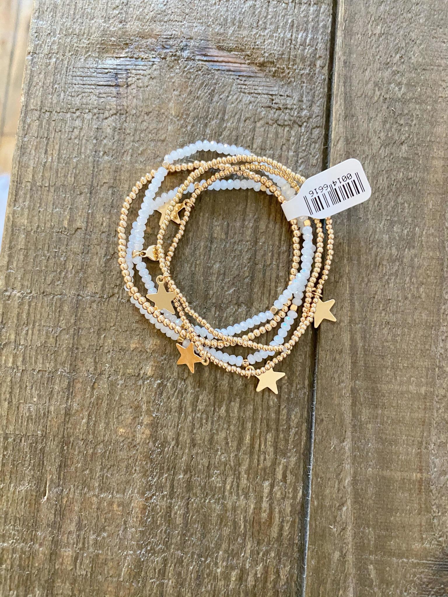 Stars Bracelet Set