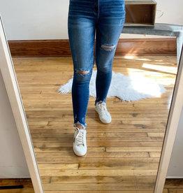 Violet High Rise Jeans