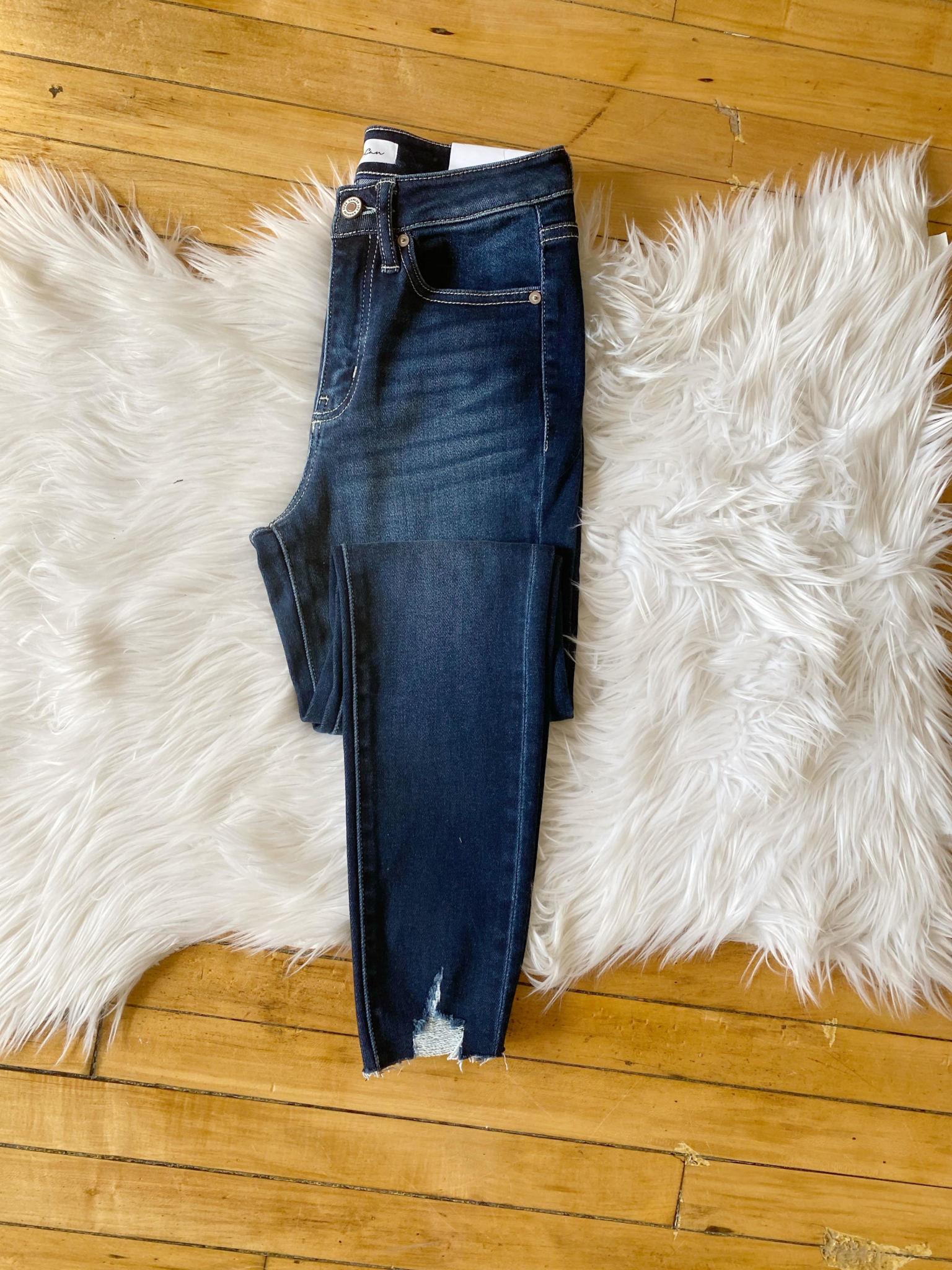 Charolette High Rise Dark Jeans