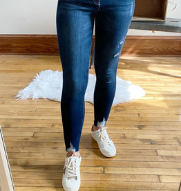Charolette High Rise Dark Jeans