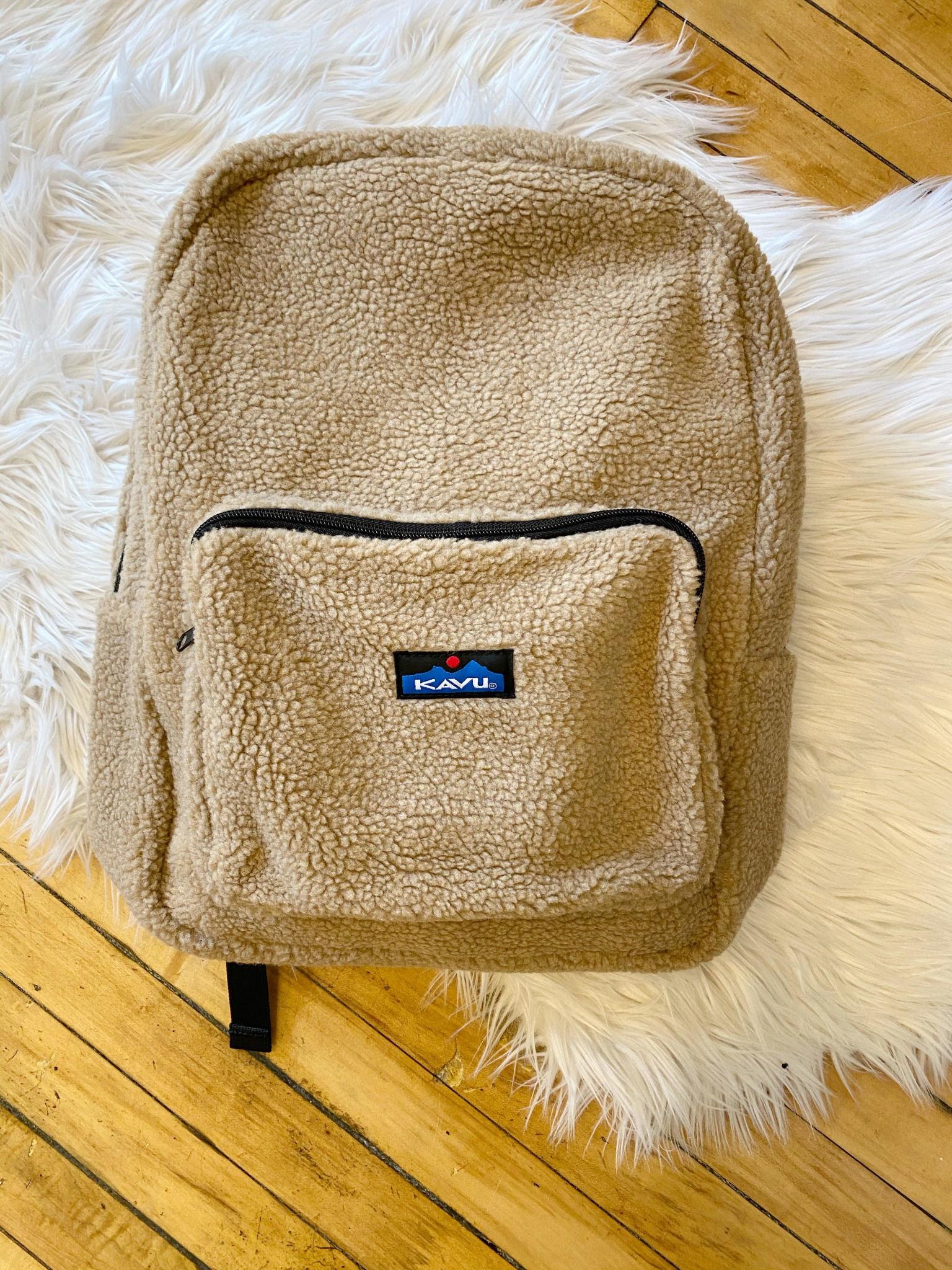 Teddy Fleece Backpack