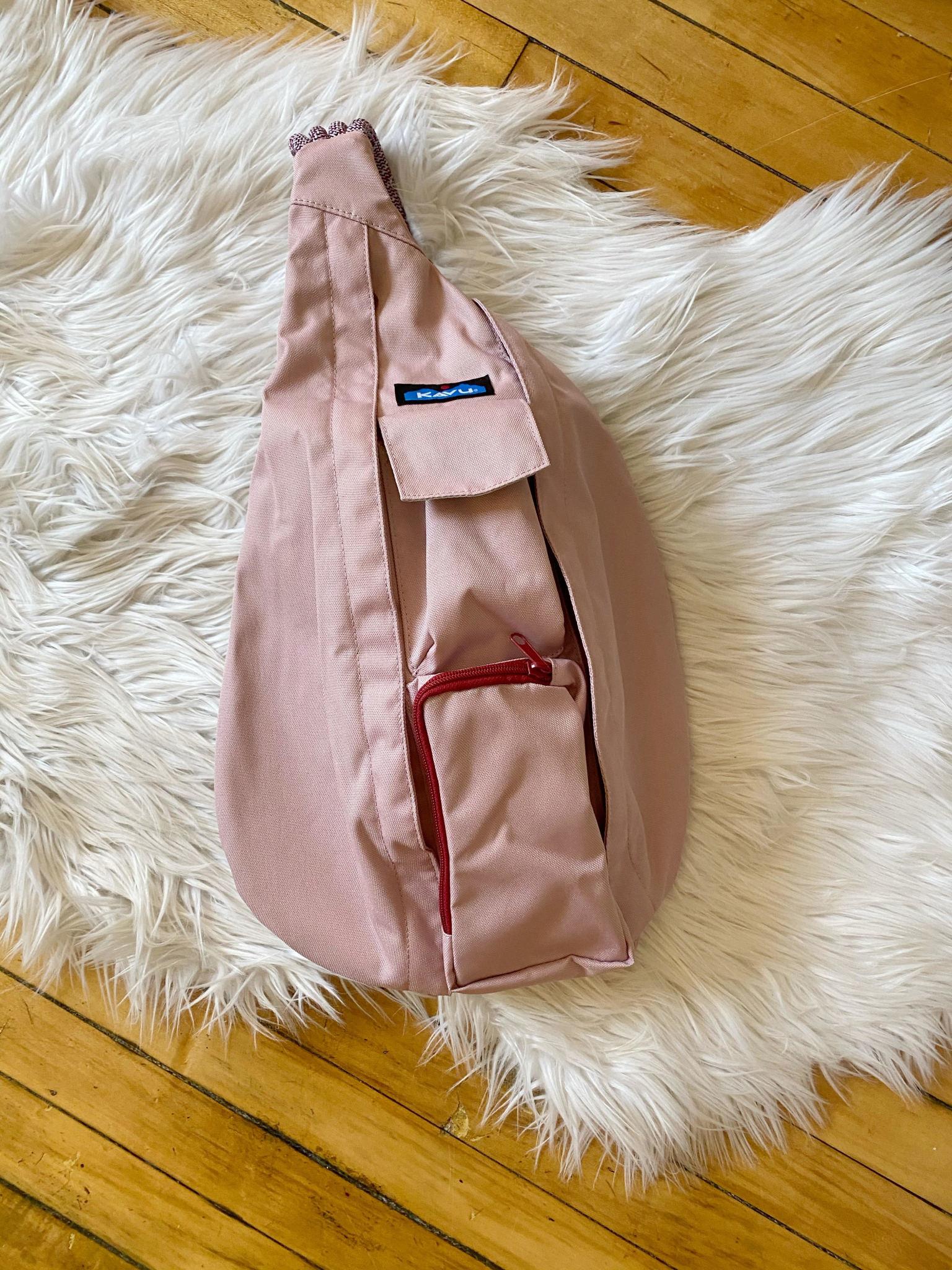 Misty Rose Rope Bag