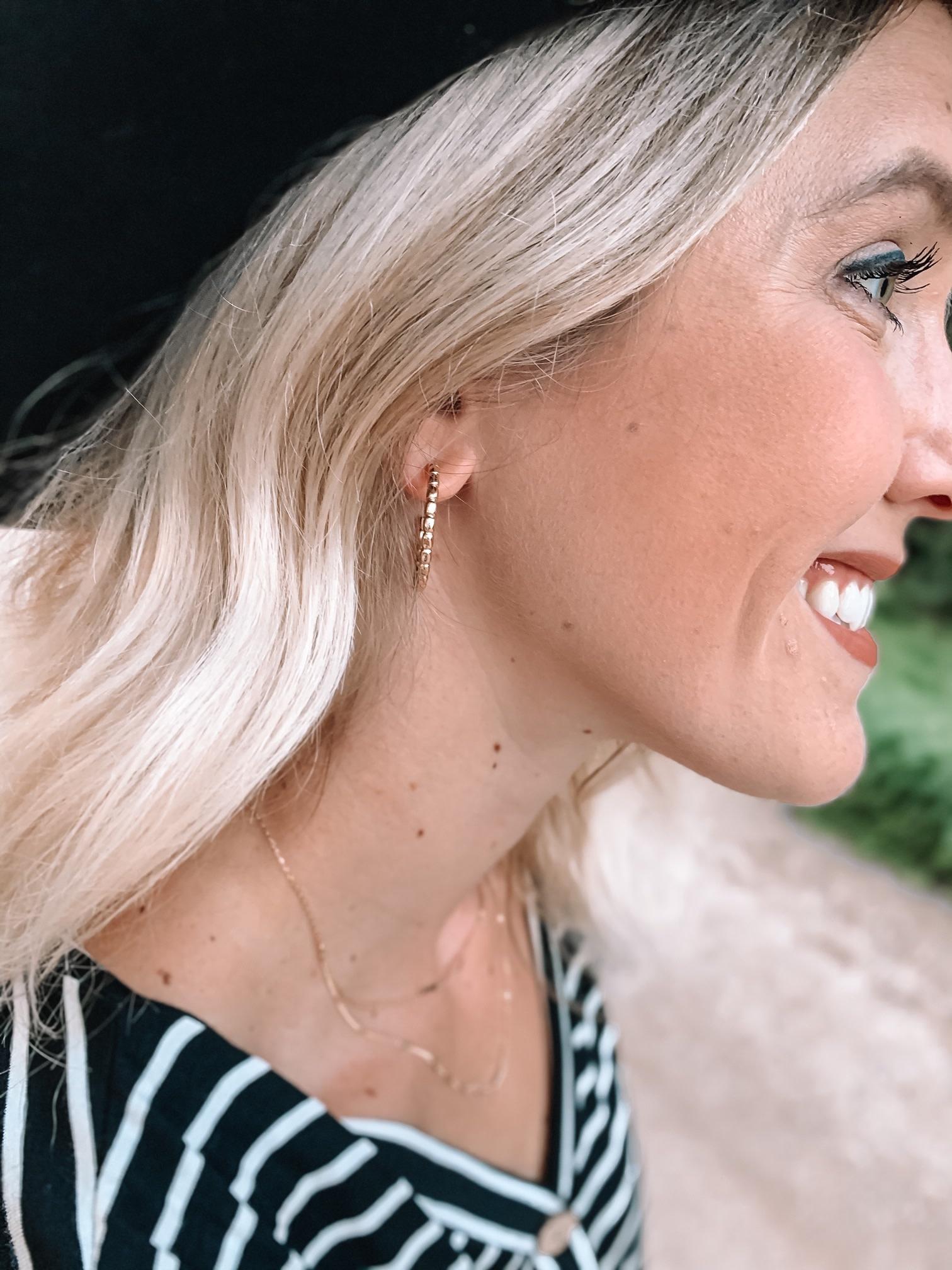 Gold Small Hoop Earrings