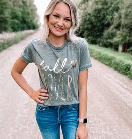 Fall Lover Gold Foil Tee