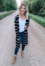Aspen Striped Cardigan