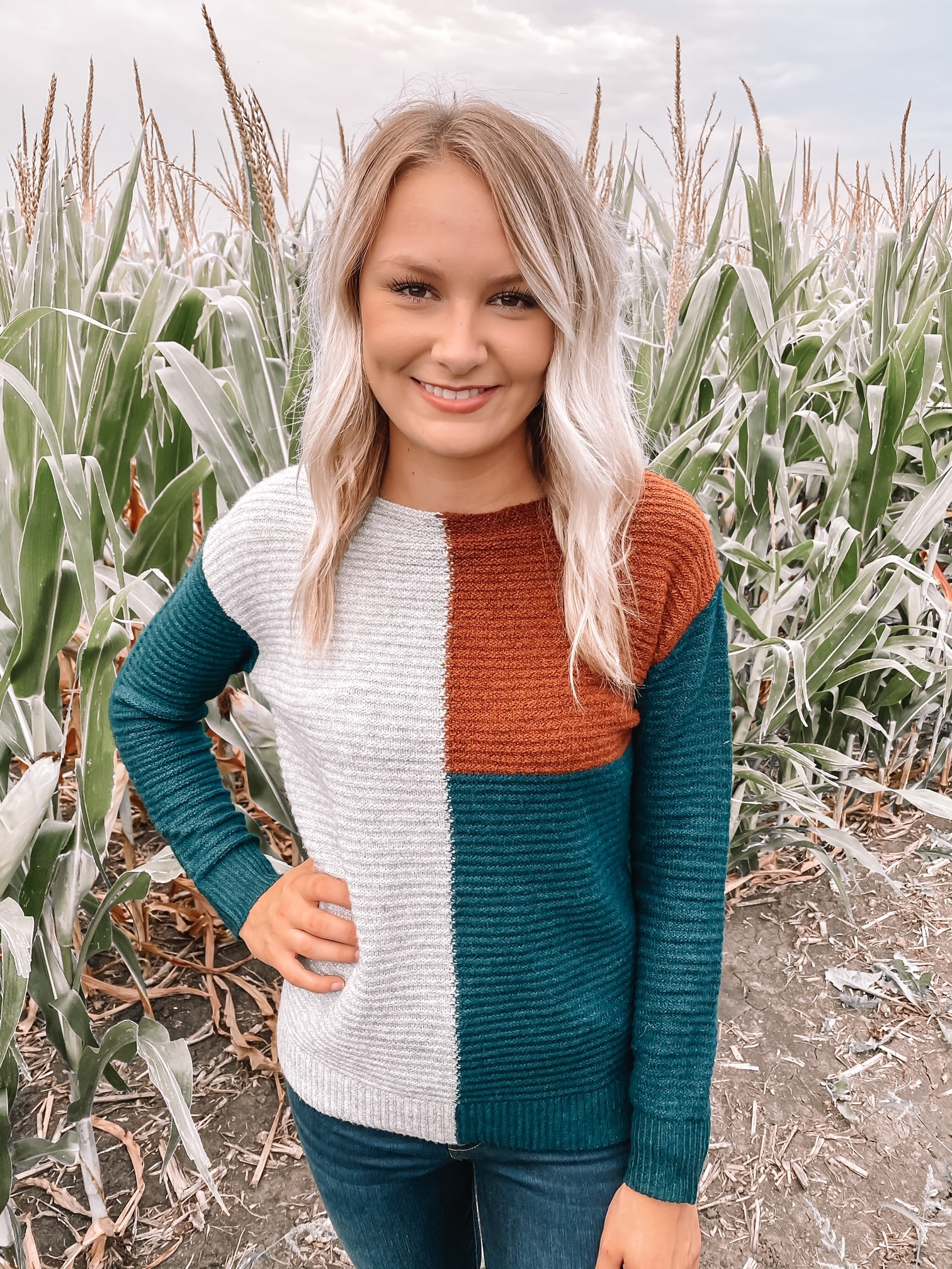 Willow Colorblock Sweater