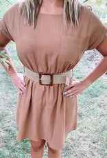Elise Belted Dress