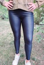 Pebble Black Leggings