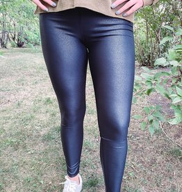 Pebble Black Leggings