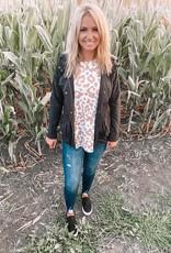 Nora Black Utility Jacket