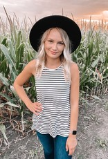 Alexa Striped Tank