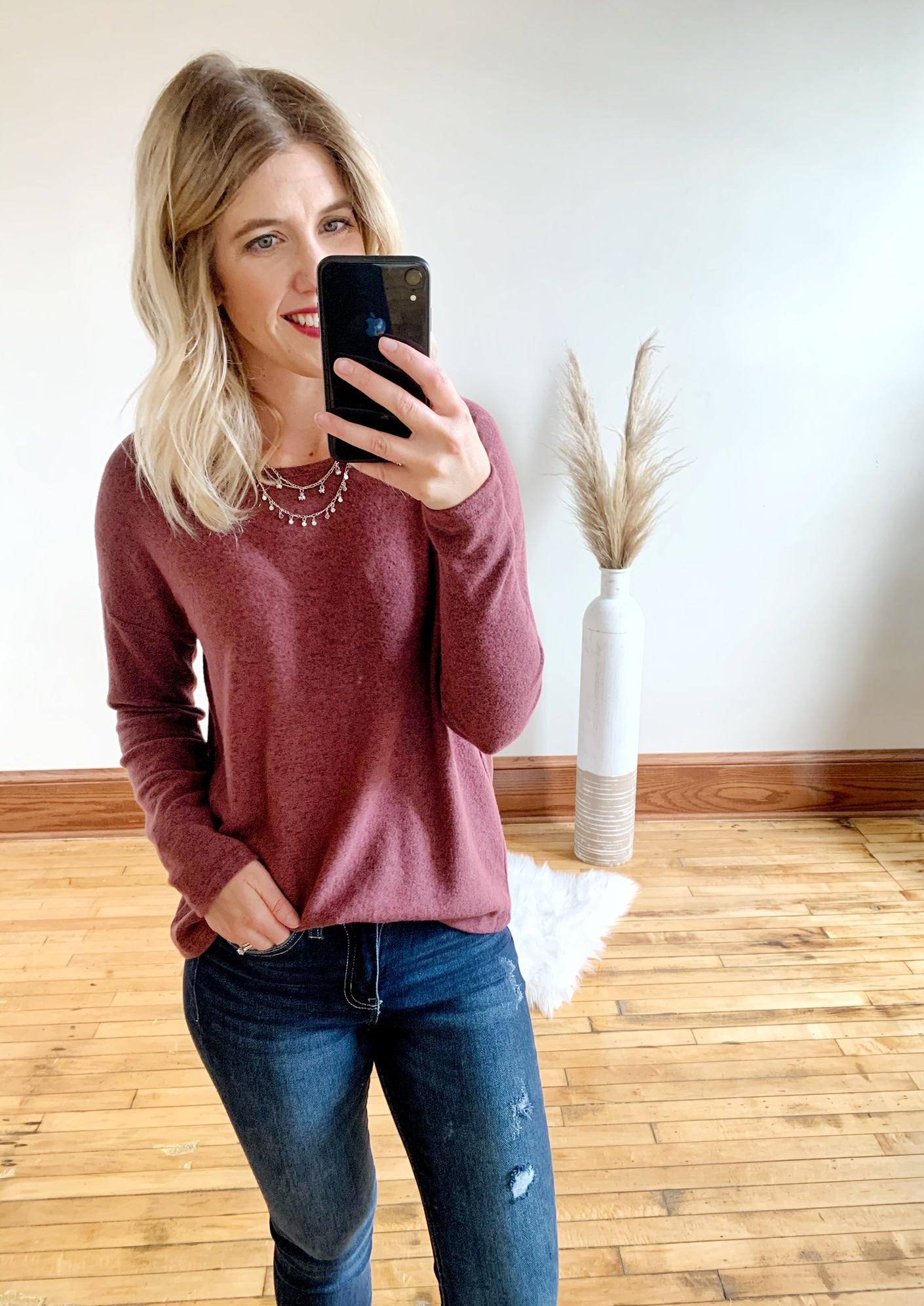 Alexa Brushed Long Sleeve