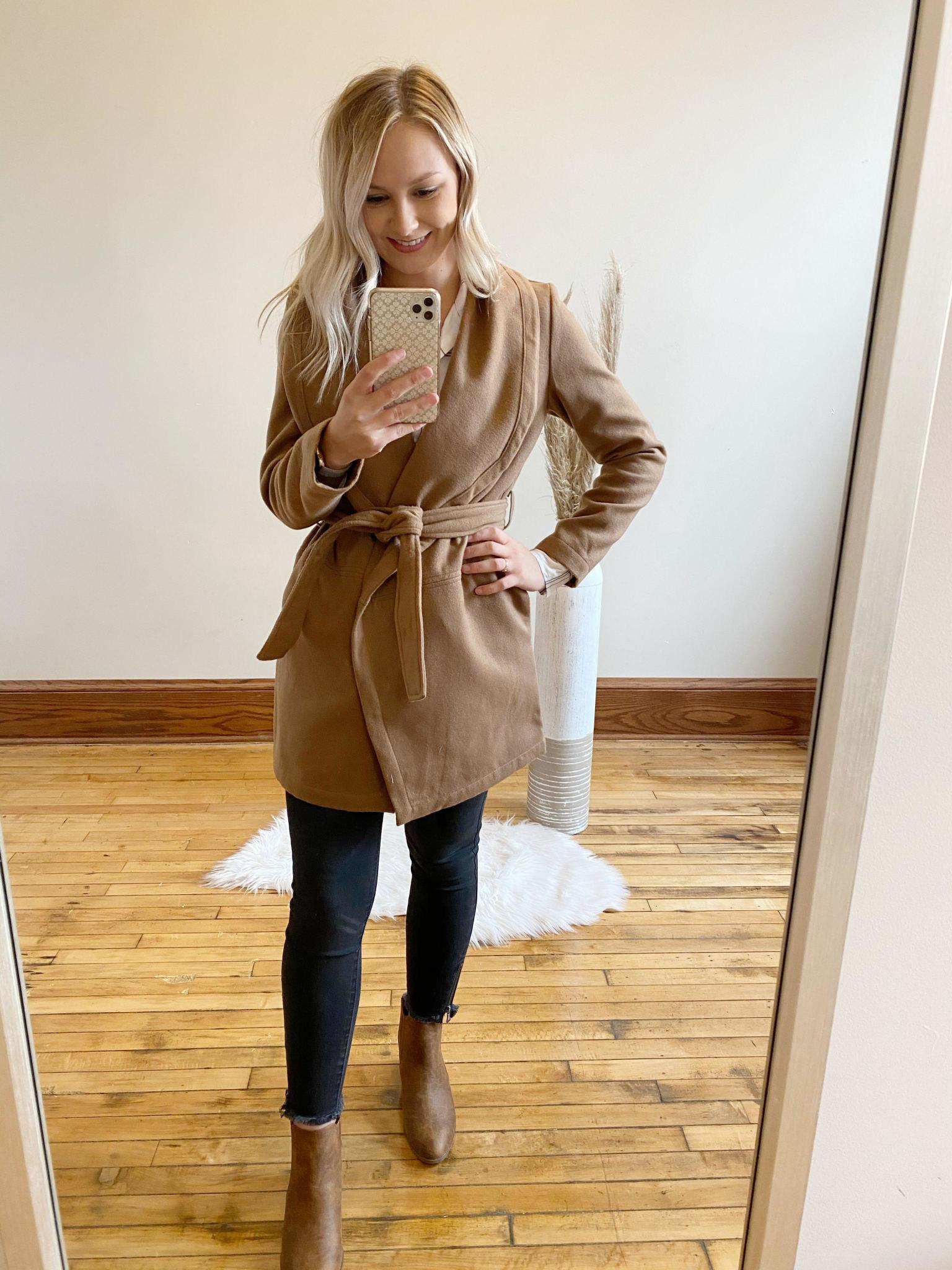 Felt Cute Might Cozy Jacket