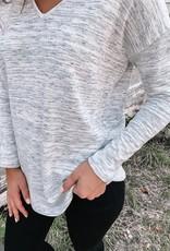 Leah Long Sleeve V-Neck