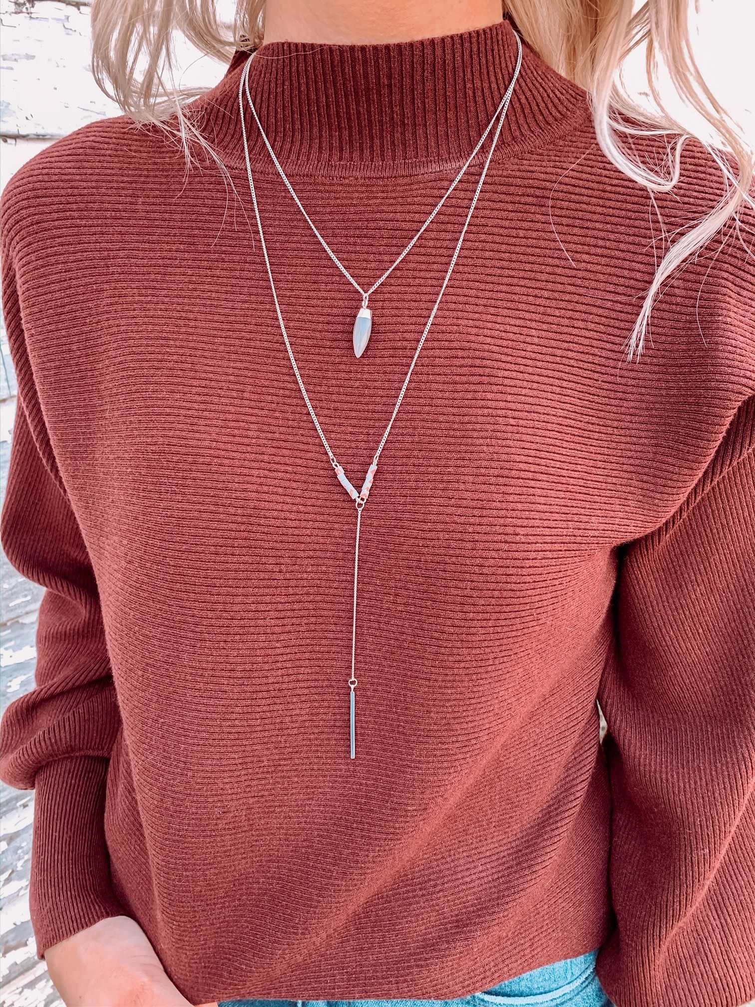 Silver Donna Necklace