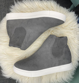 Sam Grey High Top Sneakers