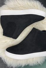 Sam Black High Top Sneakers