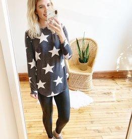 Talia Stars Printed Long Sleeve