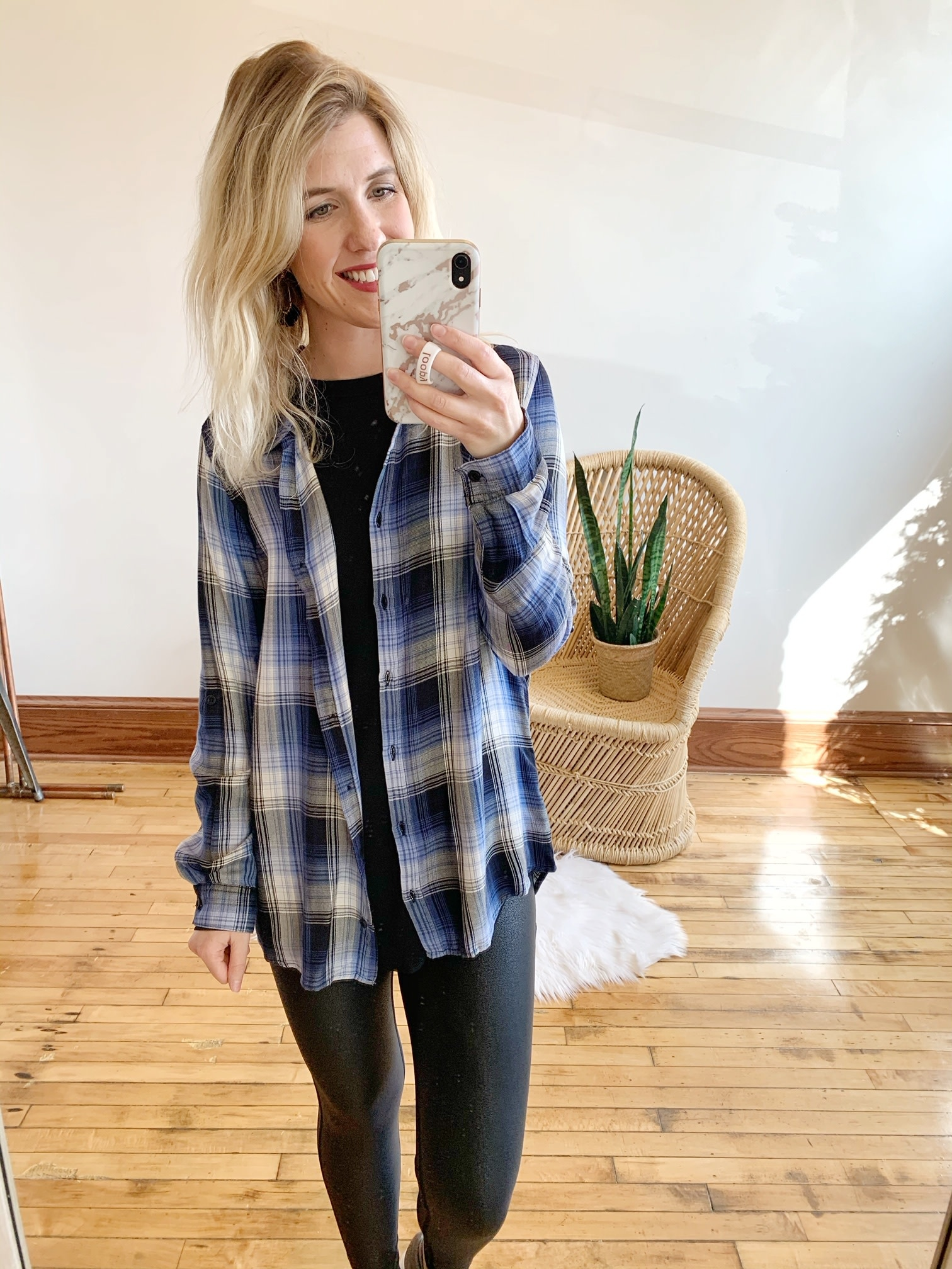 River Plaid Shirt