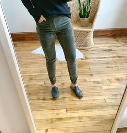 Olive Corduroy Skinnies
