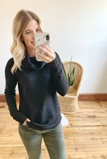 Lexi Black Turtleneck