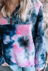 Wren Tie Dye Sherpa