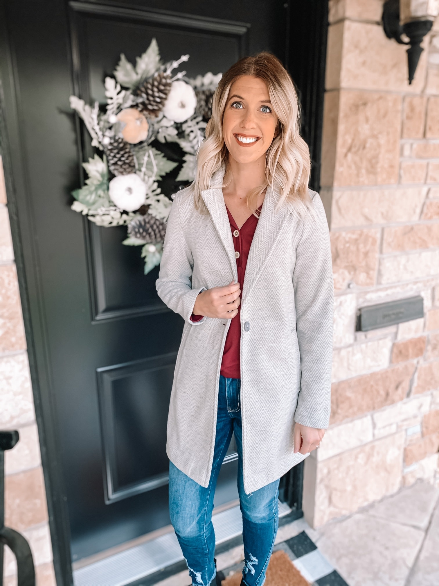 Madelyn Collared Coat