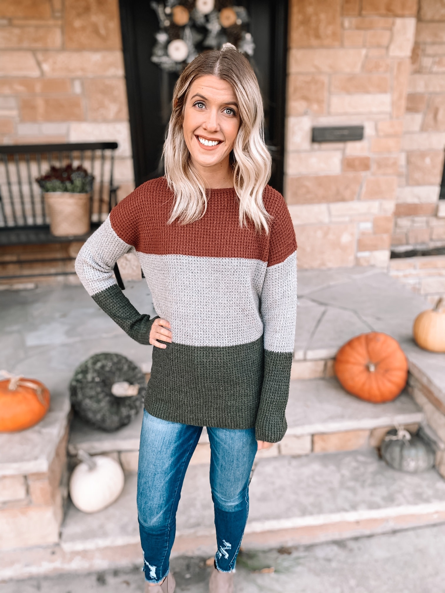 Sammy Colorblock Sweater
