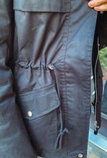 Parker Black Hooded Coat
