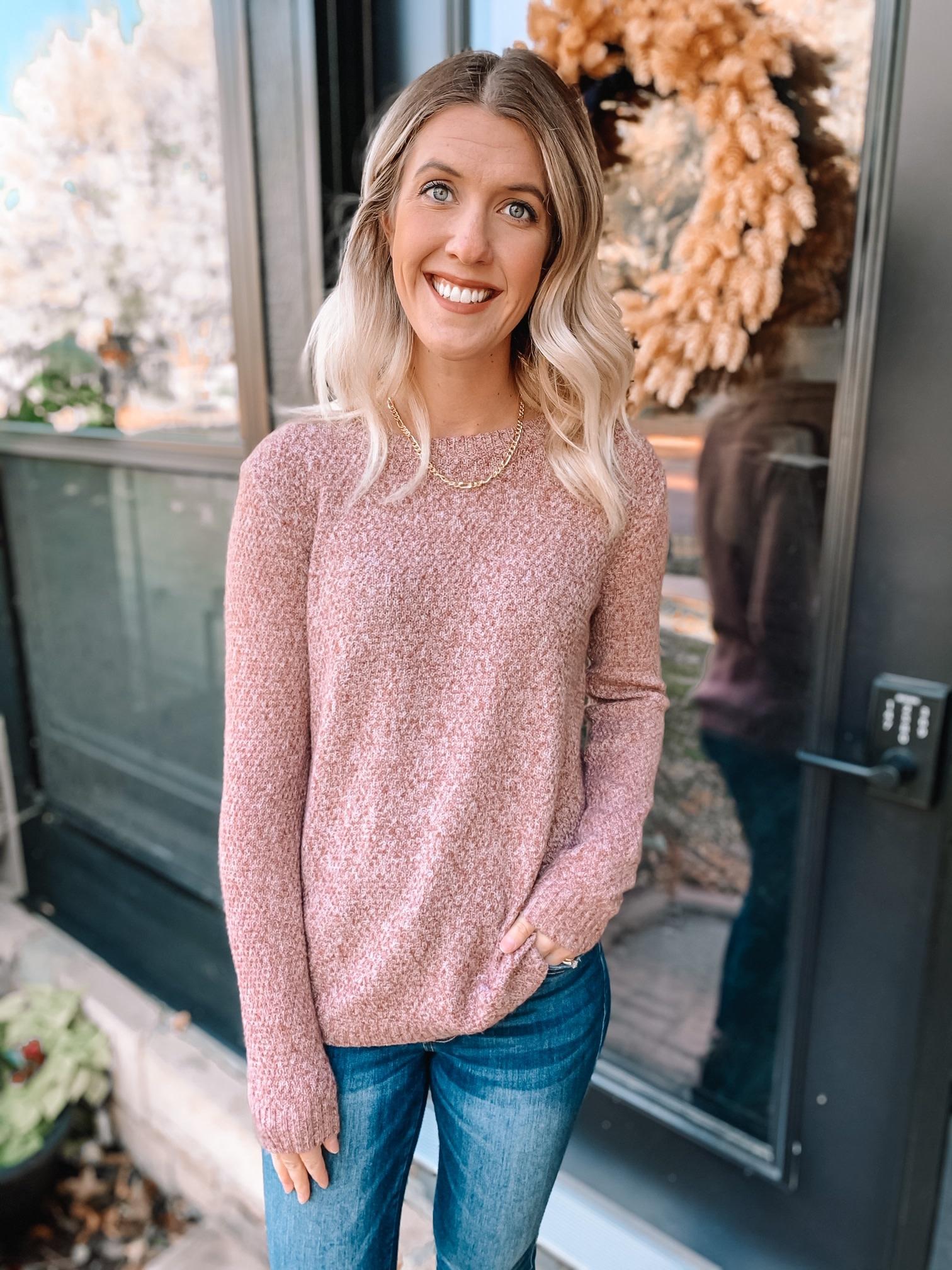 Alexa Mauve Sweater