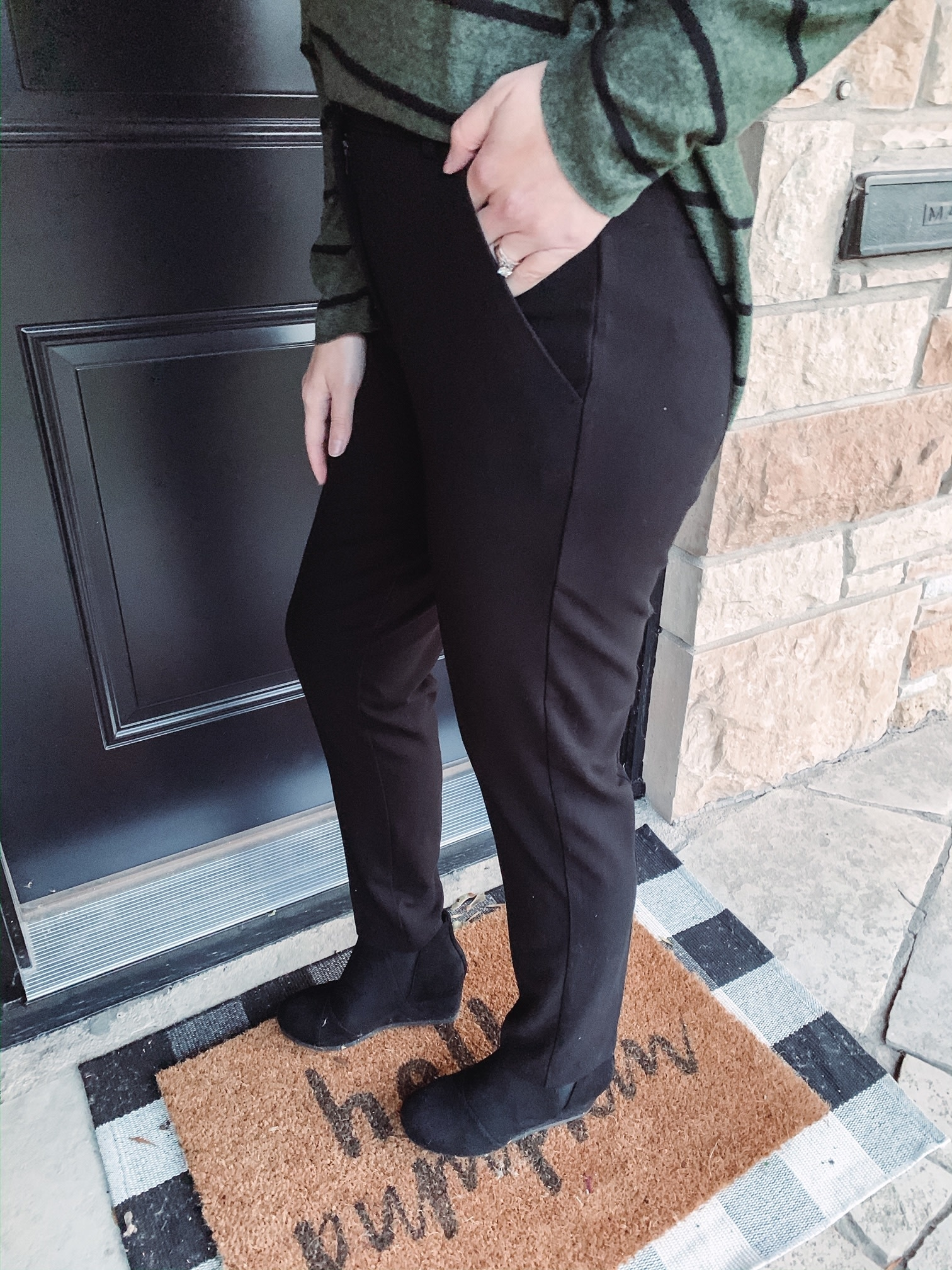 Harper Black Dress Pants
