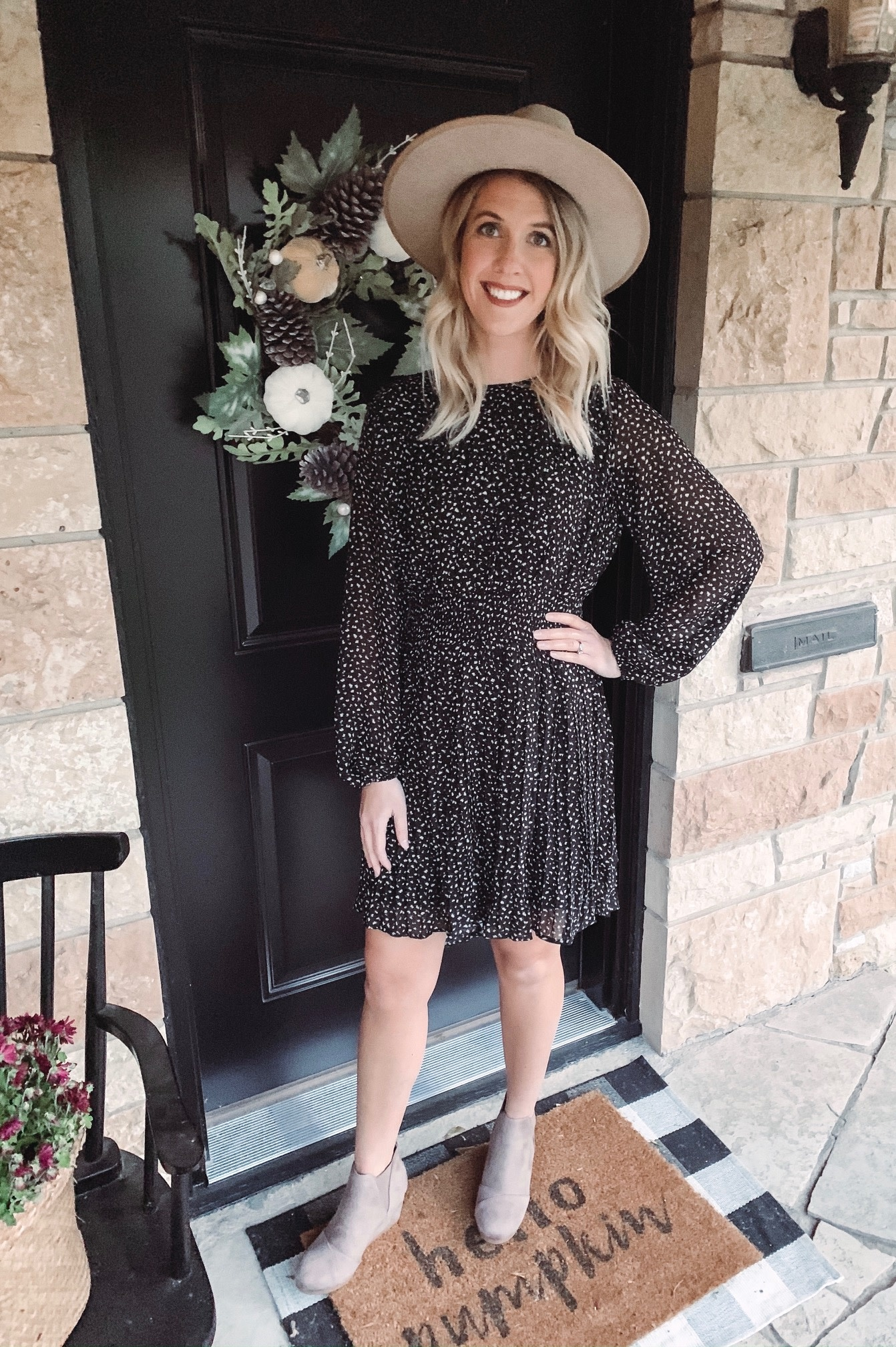 Nova Smocked Dress