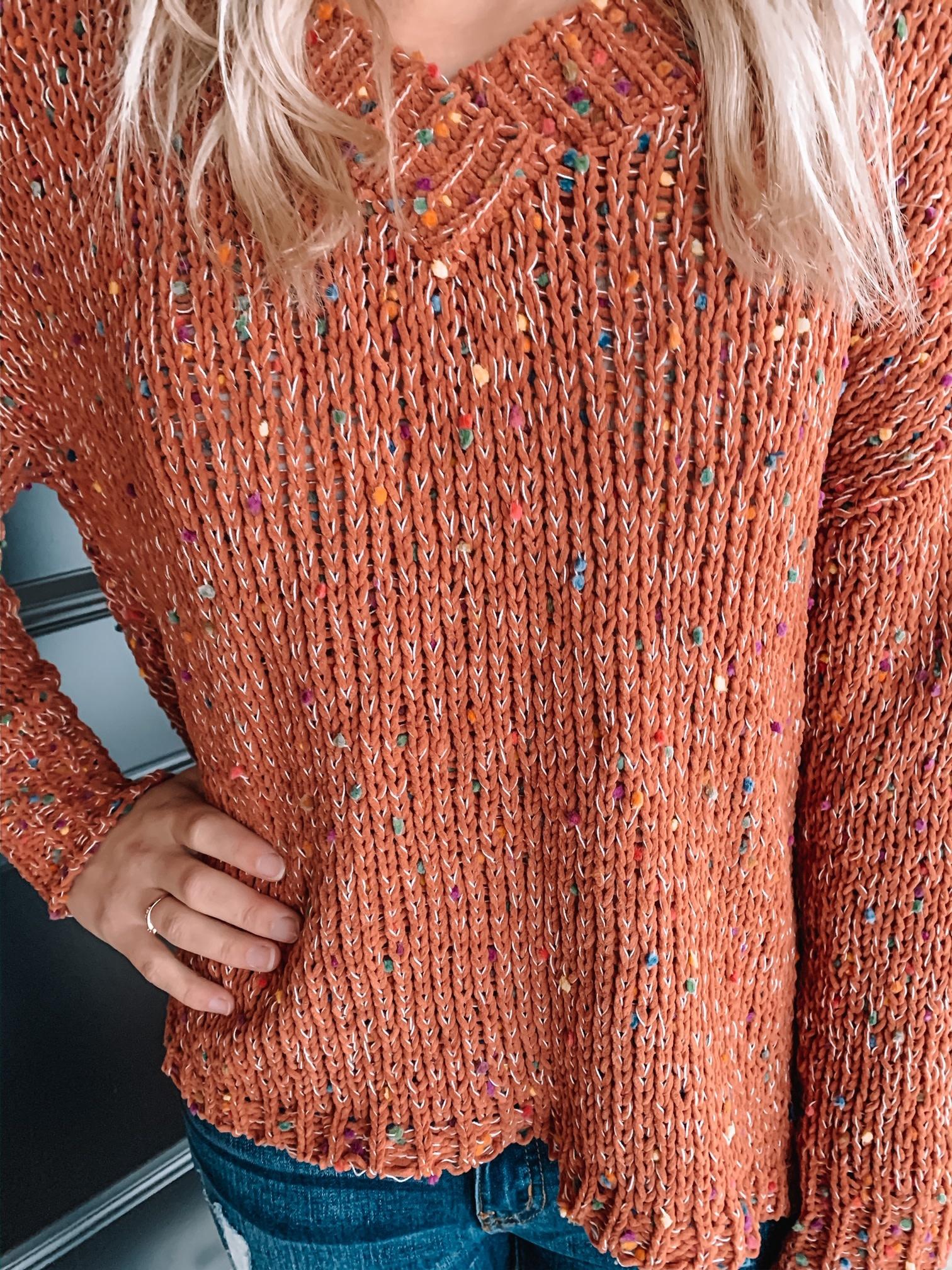 Autumn Confetti Sweater