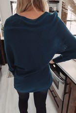 Harlow Teal Sweater