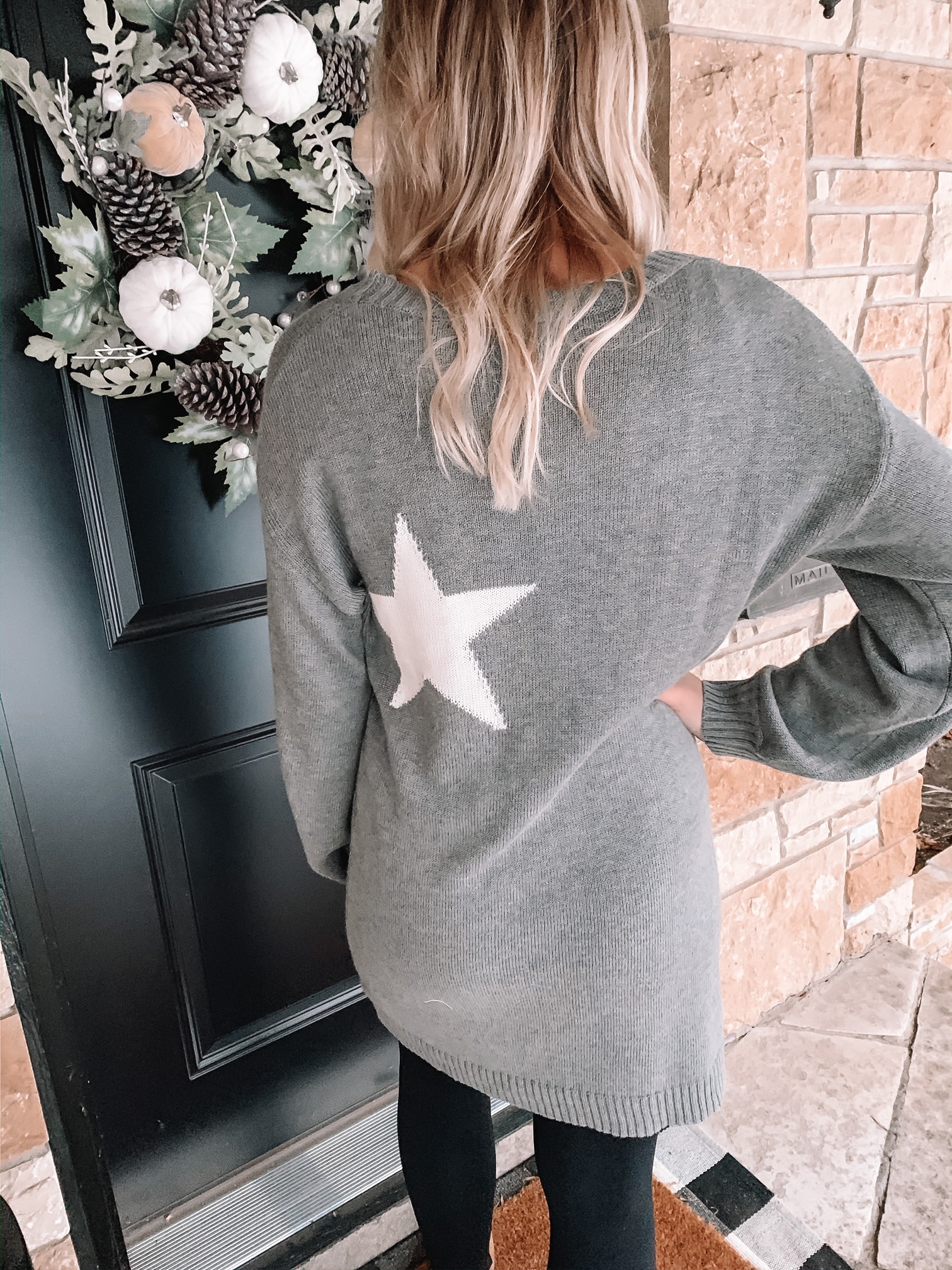 Star Sweater Dress