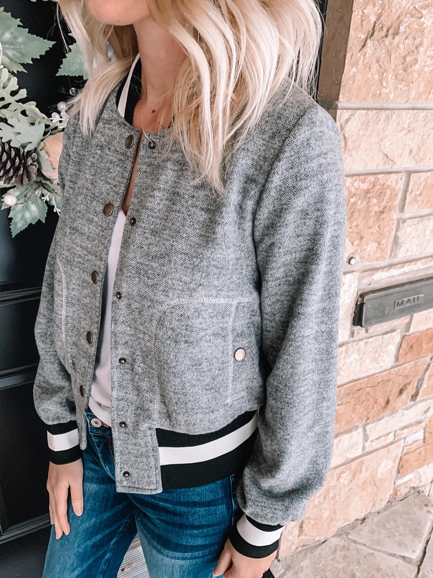 Cool Girl Bomber Jacket