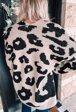 Kaden Leopard Cardigan