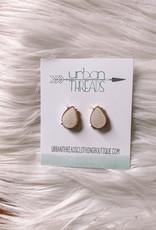 Druzy Teardrop Earrings