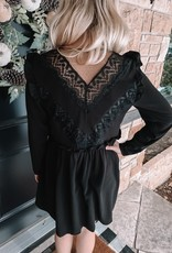 Jillian Black Dress
