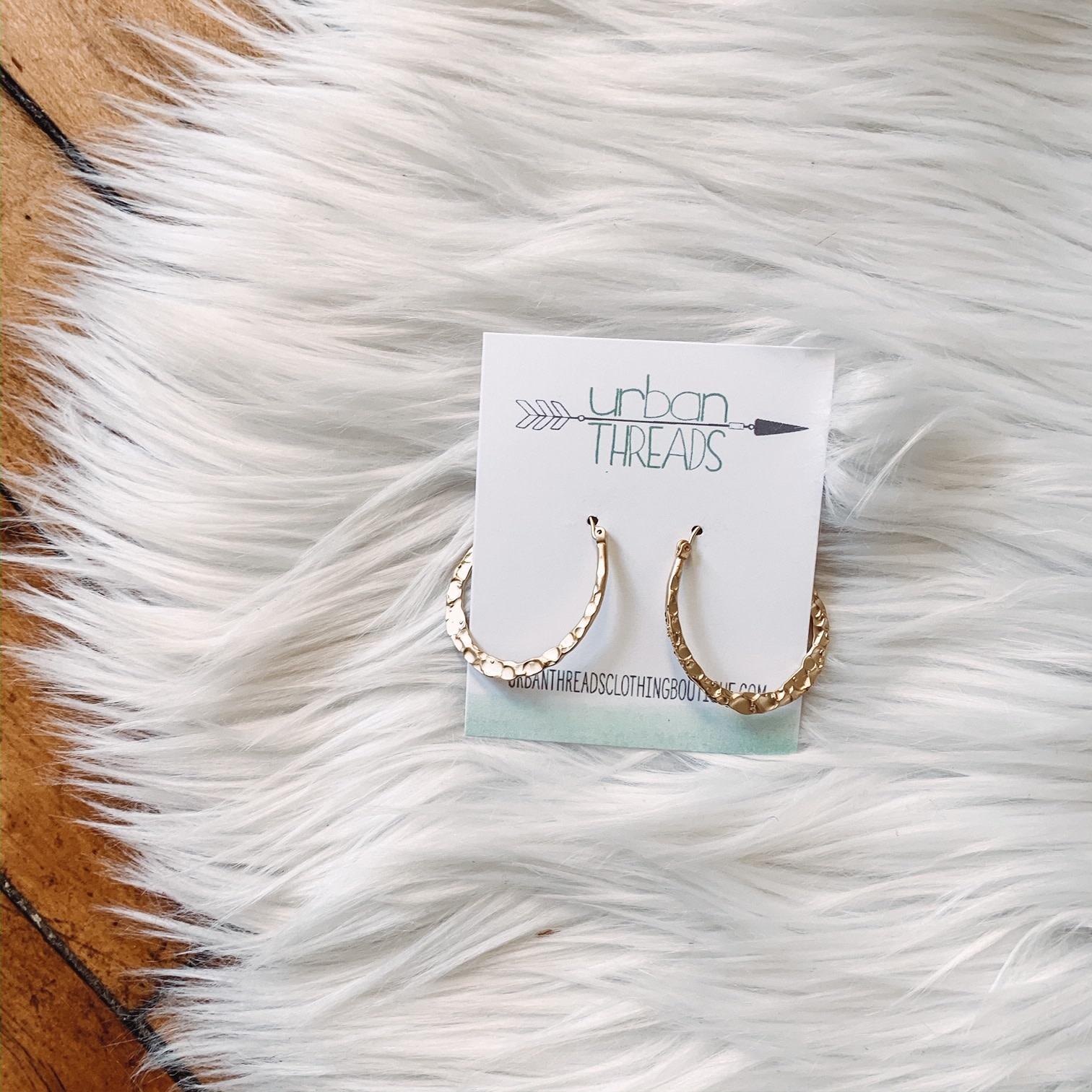 Chloe Gold Earrings