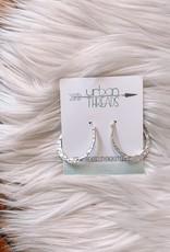 Chloe Silver Earrings