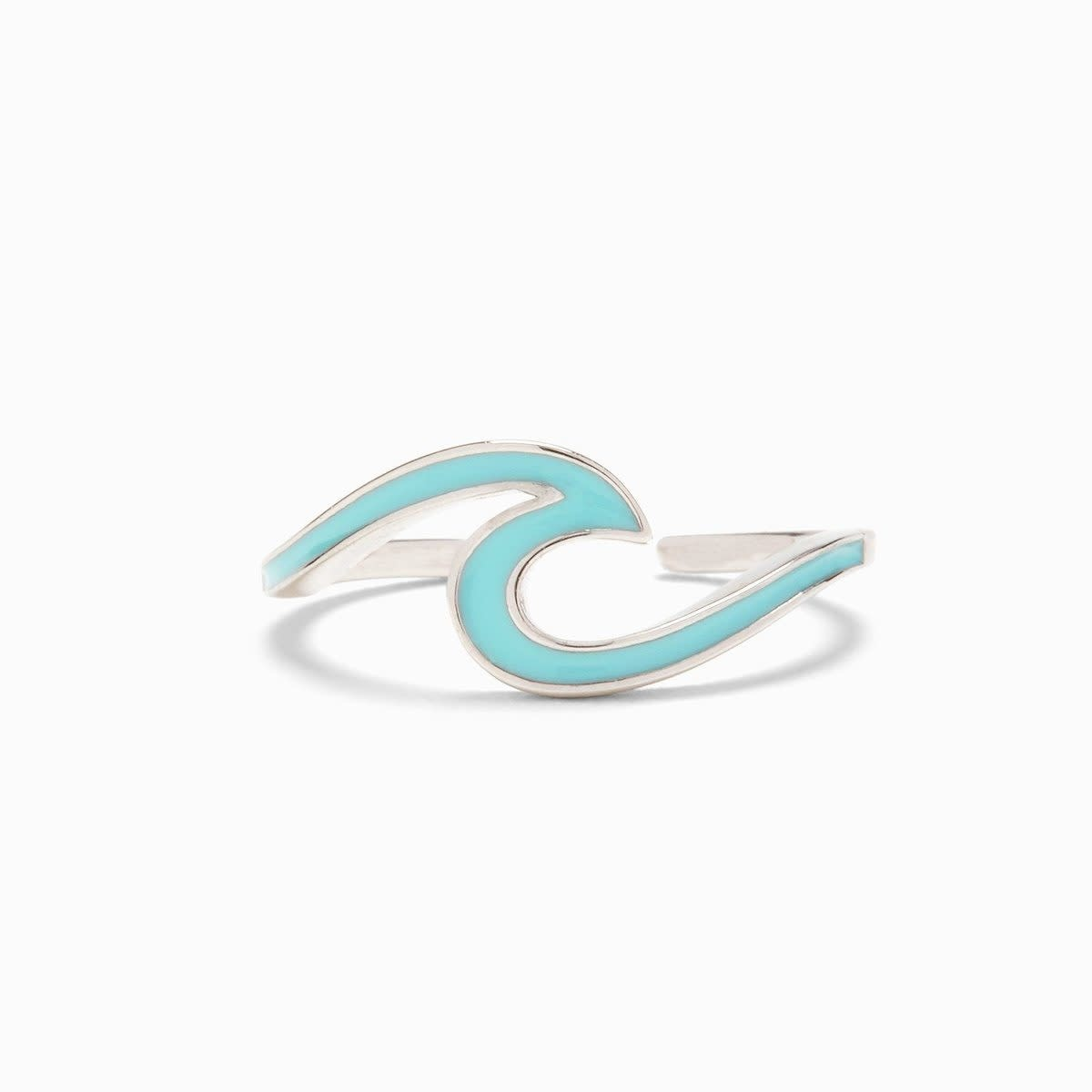 PuraVida Blue Puravida Wave Ring