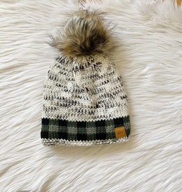 Sylvie Green Plaid Hat