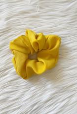 Solid Mustard Scrunchie