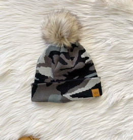 Luna Grey Camo Hat
