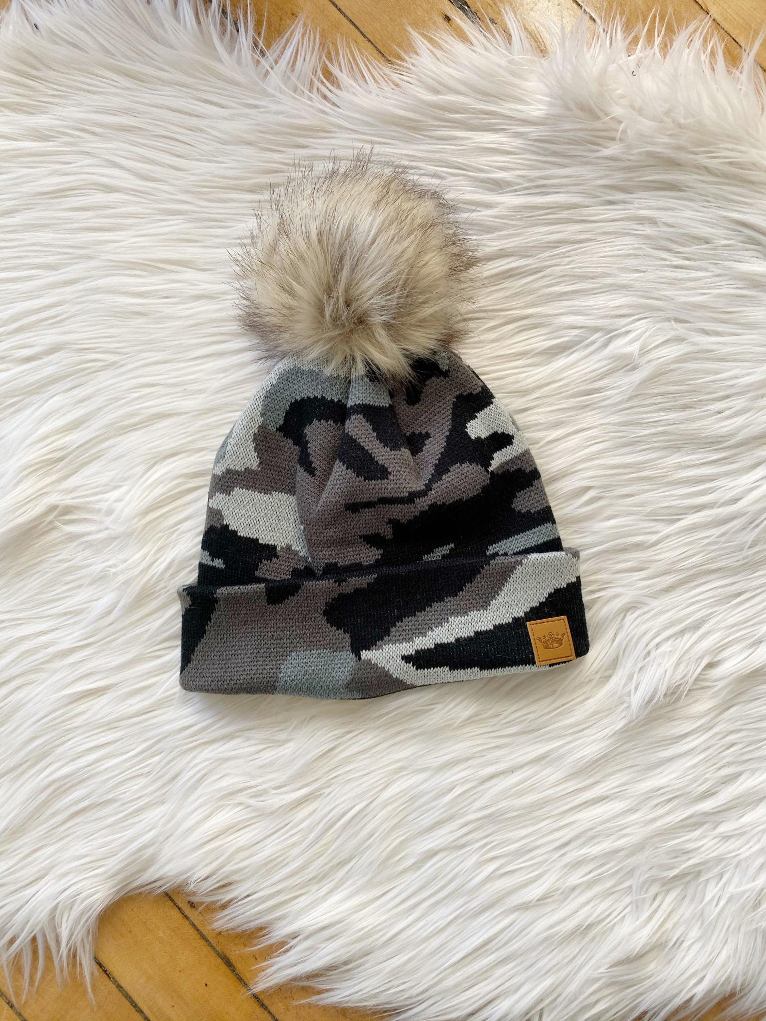 Luna Grey Camo Hat
