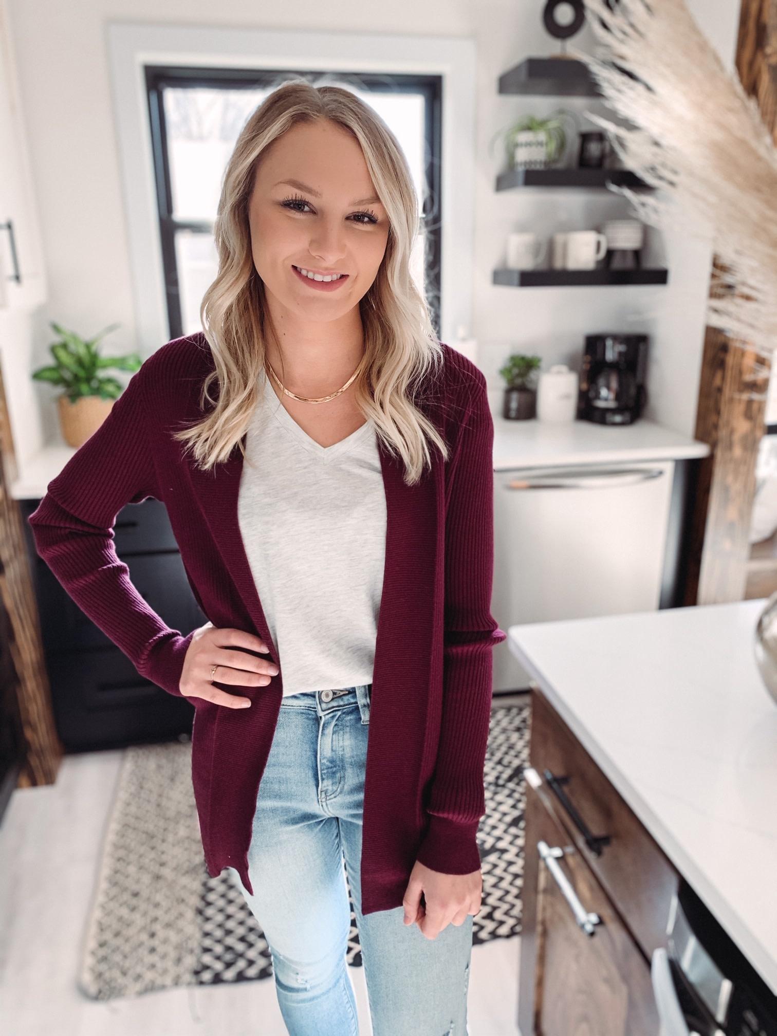 Katie Plum Cardigan