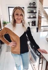 Calla Color Block Sweater