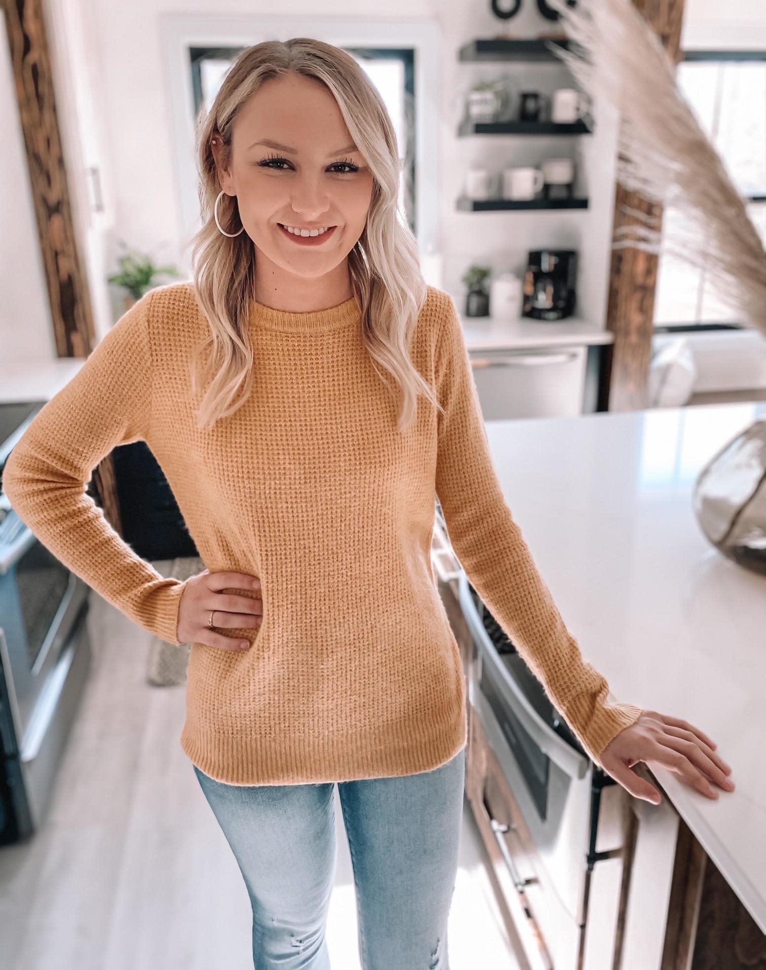 Briggs Yellow Sweater