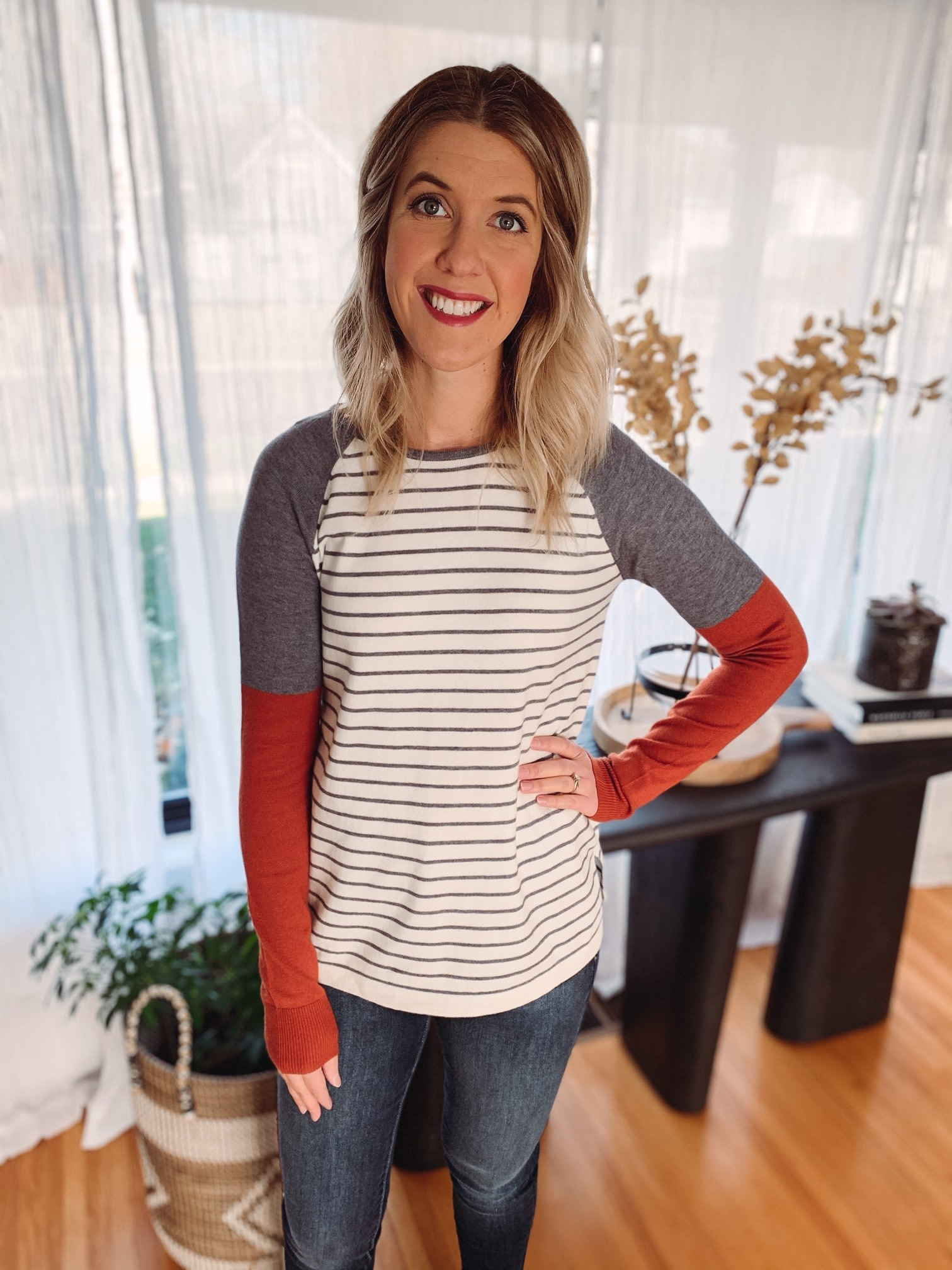 Jenny Striped Sweater